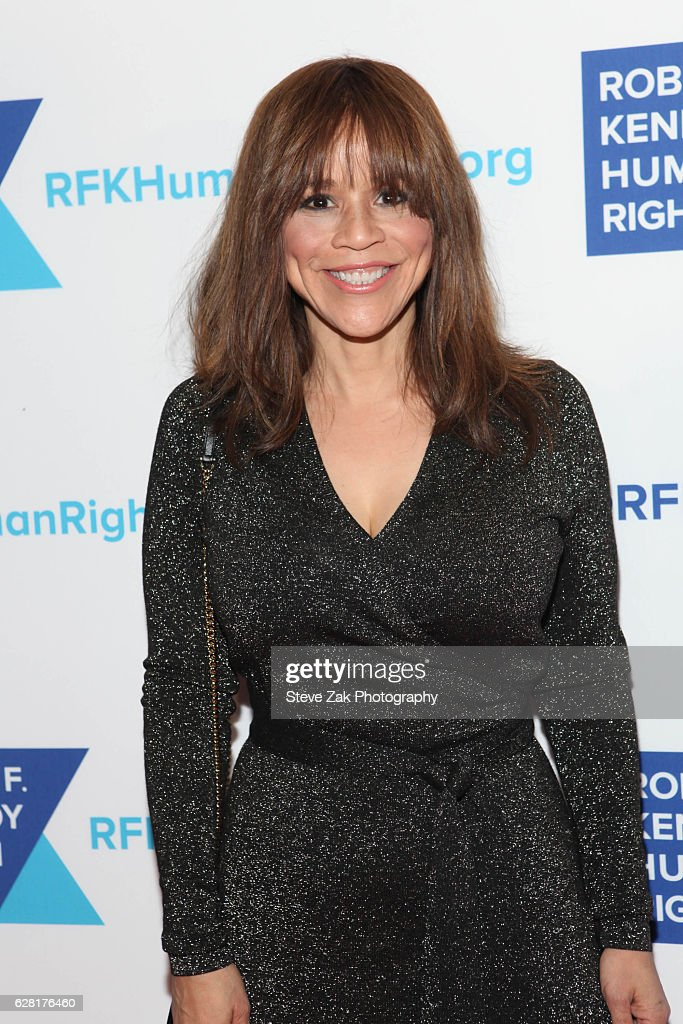 Actress Rosie Perez attends 2016 Robert F. Kennedy Human Rights' Ripple of Hope Awards at New York Hilton Midtown on December 6, 2016 in New York City.