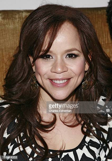 """Actress Rosie Perez attends the 13th Annual Gen Art Film Festival after party for """"A Day's Work"""" at Spotlight Live on April 8, 2008 in New York City."""