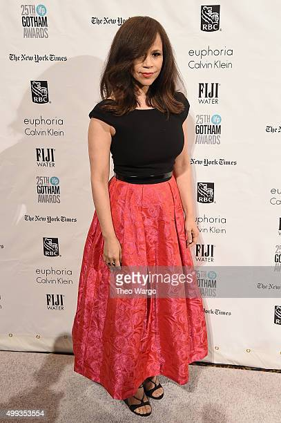 Actress Rosie Perez attends the 25th Annual Gotham Independent Film Awards at Cipriani Wall Street on November 30 2015 in New York City