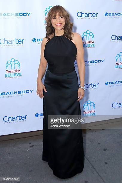 Actress Rosie Perez attends the 2nd Annual Voices For The Voiceless Stars For Foster Kids Benefit at the Al Hirschfeld Theatre on September 12 2016...