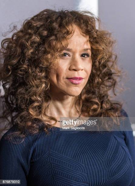 Actress Rosie Perez attends the Roman J Israel Esquire New York Premiere at Henry R Luce Auditorium at Brookfield Place on November 20 2017 in New...