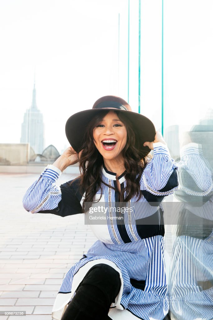 Actress Rosie Perez is photographed for New York Times on February 28, 2018 in New York City.