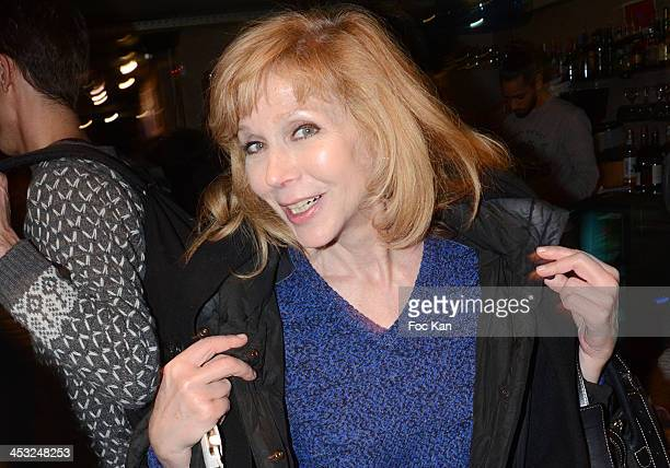 Actress Rosine Young attends The ''C'Est Pas La Taille Qui Compte' Short Movies Screening At Le Paname Cafe on December 2 2013 in Paris France