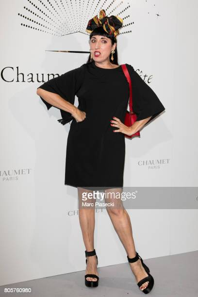 Actress Rossy de Palma attends the Chaumet Est Une Fete Haute Joaillerie Collection Launch as part of Haute Couture Paris Fashion Week on July 2 2017...