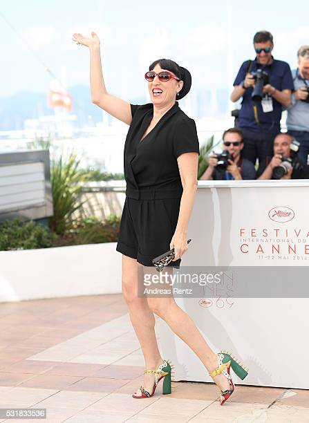 Actress Rossy de Palma attends the 'Julieta' photocall during the 69th annual Cannes Film Festival at the Palais des Festivals on May 17 2016 in...