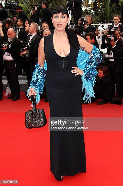 Actress Rossy De Palma attends the 'You Will Meet A Tall Dark Stranger' Premiere held at the Palais des Festivals during the 63rd Annual...