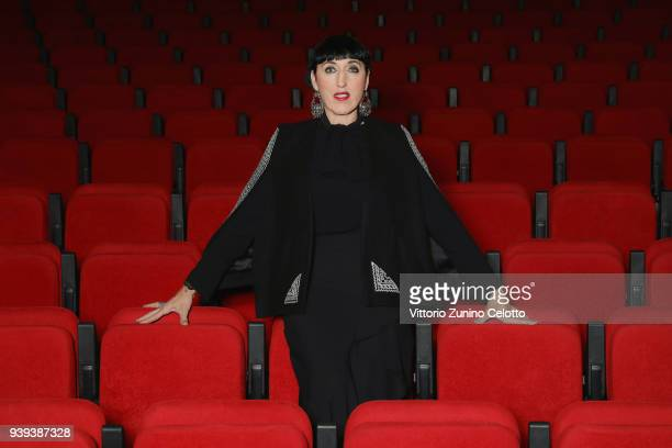 Actress Rossy de Palma attends Women In Motion Talk By Kering during the Rencontres 7me Art on March 27 2018 in Lausanne Switzerland