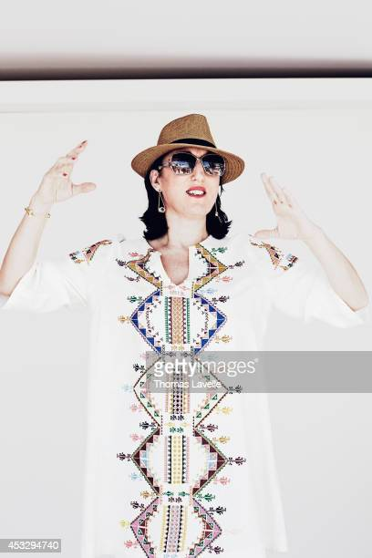 Actress Rossy de Palma is photographed for Le Film Francais on May 20 2014 in Cannes France