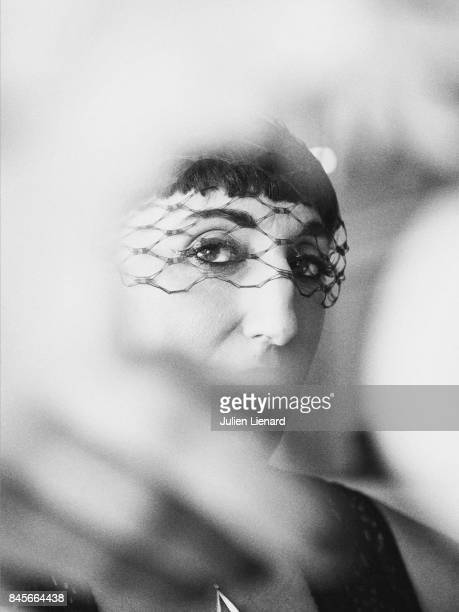 Actress Rossy de Palma is photographed for Self Assignment on May 17 2017 in Cannes France