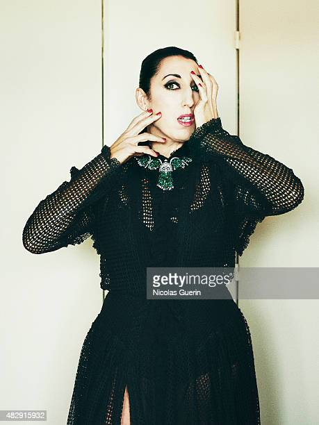 Actress Rossy de Palma is photographed on May 23 2015 in Cannes France