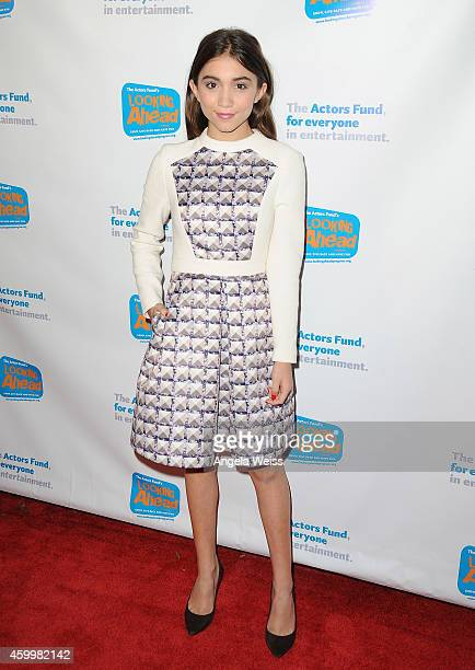 Actress Rowan Blanchard arrives at The Actor's Fund 2014 The Looking Ahead Awards at Taglyan Cultural Complex on December 4 2014 in Hollywood...