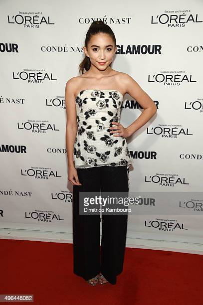 Actress Rowan Blanchard attends 2015 Glamour Women Of The Year Awards at Carnegie Hall on November 9 2015 in New York City