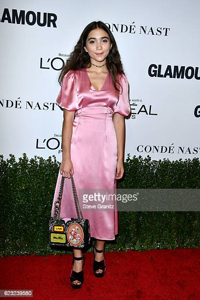 Actress Rowan Blanchard attends Glamour Women Of The Year 2016 at NeueHouse Hollywood on November 14 2016 in Los Angeles California