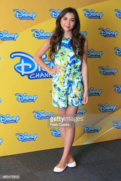 Actress Rowan Blanchard attends 'Riley Y El Mundo' photocall at the Hotel ME on July 21 2014 in Madrid Spain
