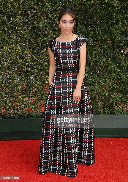 Actress Rowan Blanchard attends the 2015 Creative Arts Emmy Awards at Microsoft Theater on September 12 2015 in Los Angeles California
