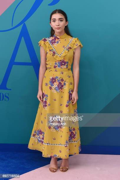 Actress Rowan Blanchard attends the 2017 CFDA Fashion Awards at Hammerstein Ballroom on June 5 2017 in New York City