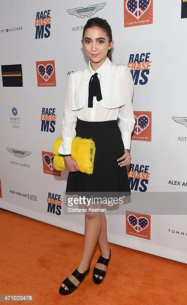 Actress Rowan Blanchard attends the 22nd Annual Race To Erase MS Event at the Hyatt Regency Century Plaza on April 24 2015 in Century City California