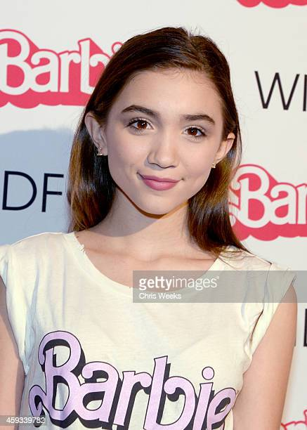 Actress Rowan Blanchard attends the Barbie Loves Wildfox party celebrating the Resort 2014 collaboration launch at the Wildfox Flagship Store on...