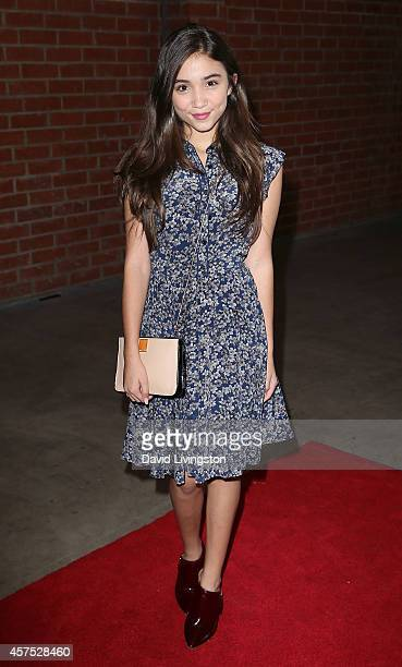 Actress Rowan Blanchard attends the Elizabeth Glaser Pediatric AIDS Foundation's 25th Annual 'A Time for Heroes' celebration at The Bookbindery on...