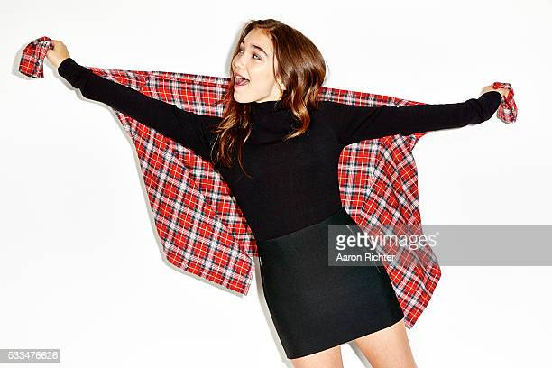 Actress Rowan Blanchard is photographed for Aritzia #FallForUs in 2014 in Los Angeles California PUBLISHED IMAGE