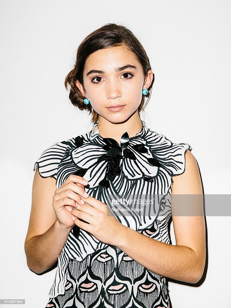 Actress Rowan Blanchard is photographed for Teen Vogue Magazine on August 4, 2015 in Los Angeles, California.