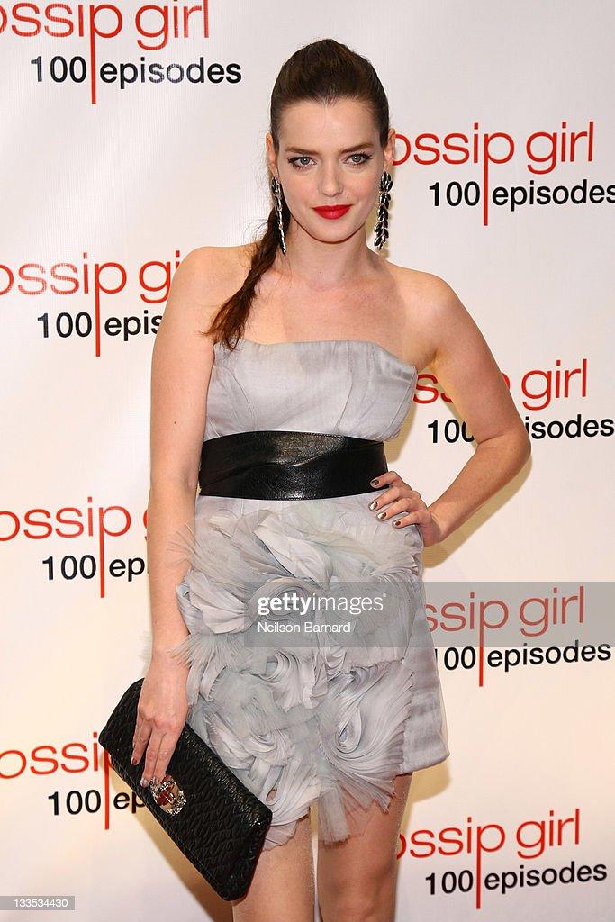 """Gossip Girl"" Celebrates 100 Episodes : ニュース写真"