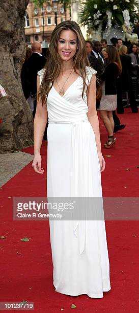 Actress Roxanne McKee arrives at the UK premiere of Sex And The City 2 at Odeon Leicester Square on May 27, 2010 in London, England.
