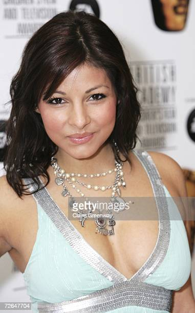 Actress Roxanne Pallett arrives at the 11th British Academy Children's Film Television Awards at the Park Lane Hilton hotel on November 26 2006 in...