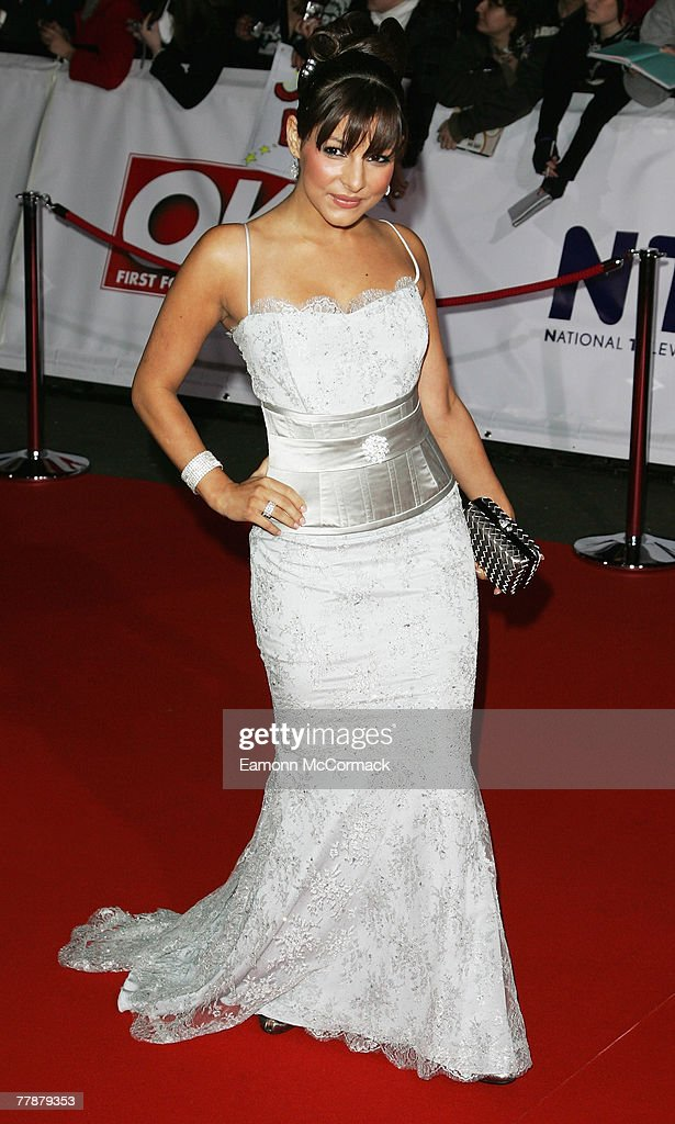 Actress Roxanne Pallett arrives at the National Television Awards 2007 held at the Royal Albert Hall on October 31, 2007 in London, England.