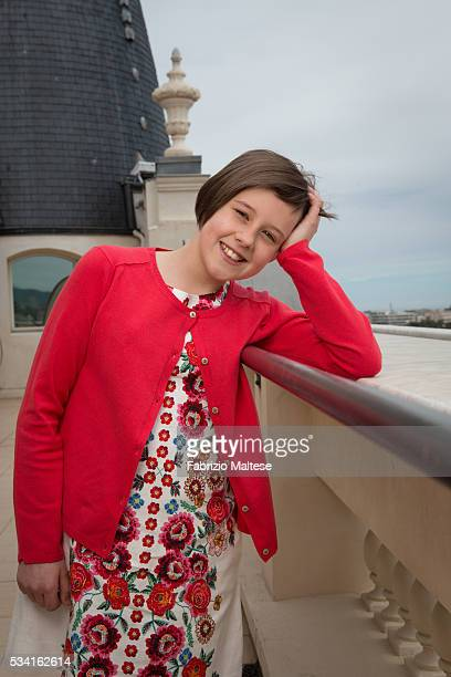 Actress Ruby Barnhill is photographed for The Hollywood Reporter on May 14, 2016 in Cannes, France.