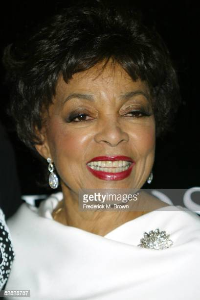Actress Ruby Dee attends Oprah Winfrey's Legends Ball at the Bacara Resort and Spa on May 14 2005 in Santa Barbara California
