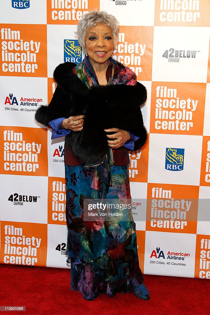 Actress Ruby Dee attends The Film Society of Lincoln Center's presentation of the 38th Annual Chaplin Award at Alice Tully Hall on May 2, 2011 in New York City.