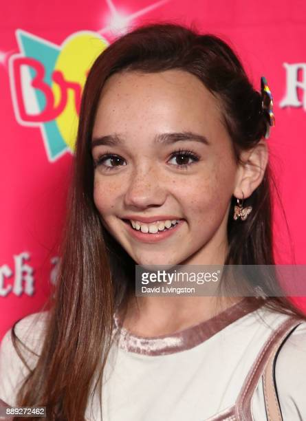 Actress Ruby Jay attends social media influencer Annie LeBlanc's 13th birthday party at Calamigos Beach Club on December 9 2017 in Malibu California