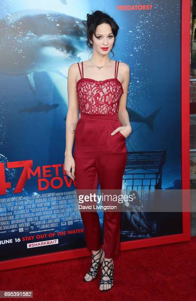 Actress Ruby Modine attends the premiere of Dimension Films' '47 Meters Down' at Regency Village Theatre on June 12 2017 in Westwood California