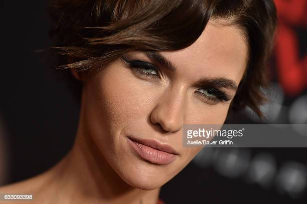 Ruby Rose Resident Evil Premiere Style: Resident Evil The Final Chapter Stock Photos And Pictures