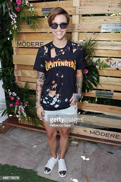 Actress Ruby Rose attends Kari Feinstein's Style Lounge at Sunset Marquis Hotel Villas on September 17 2015 in West Hollywood California