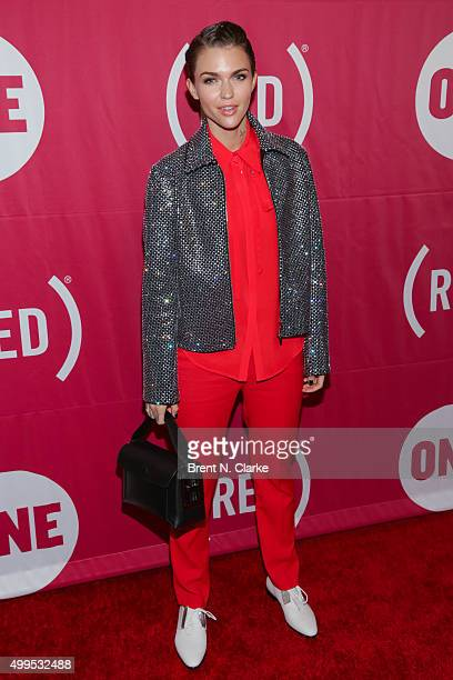 Actress Ruby Rose attends ONE and 's 'It Always Seems Impossible Until It Is Done' event held at Carnegie Hall on December 1 2015 in New York City