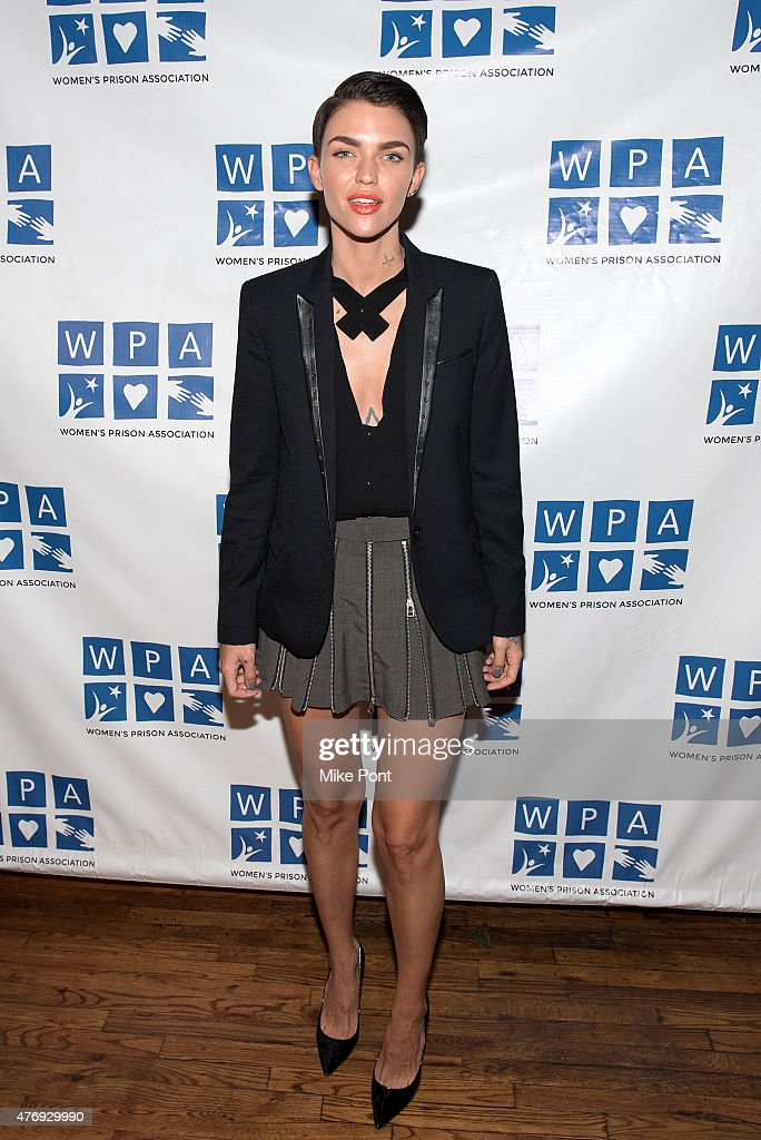 Actress Ruby Rose attends the 'Orange is the New Black' season 3 premiere party benefiting the Women's Prison Association at The Ainsworth on June 12, 2015 in New York City.