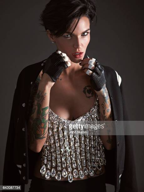 Actress Ruby Rose is photographed on September 21, 2016 in Los Angeles, California.