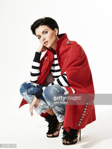 Actress Ruby Rose is photographed on September 21 2016 in Los Angeles California