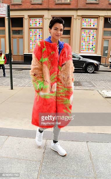 Actress Ruby Rose is seen on December 7 2016 in New York City