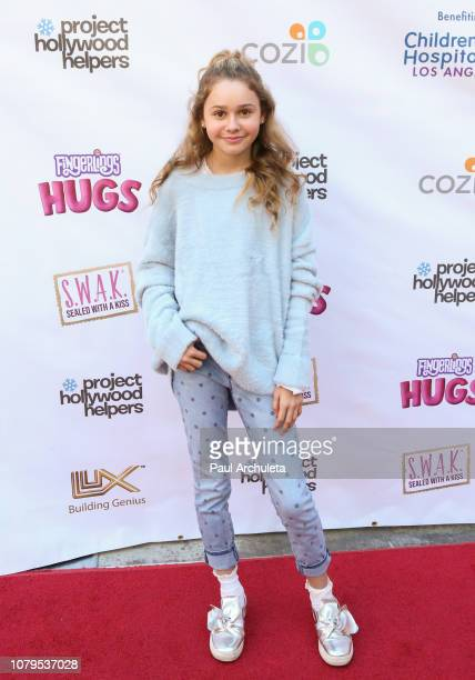 Actress Ruby Rose Turner attends the Project Hollywood Helpers community service event at the Skirball Cultural Center on December 08 2018 in Los...