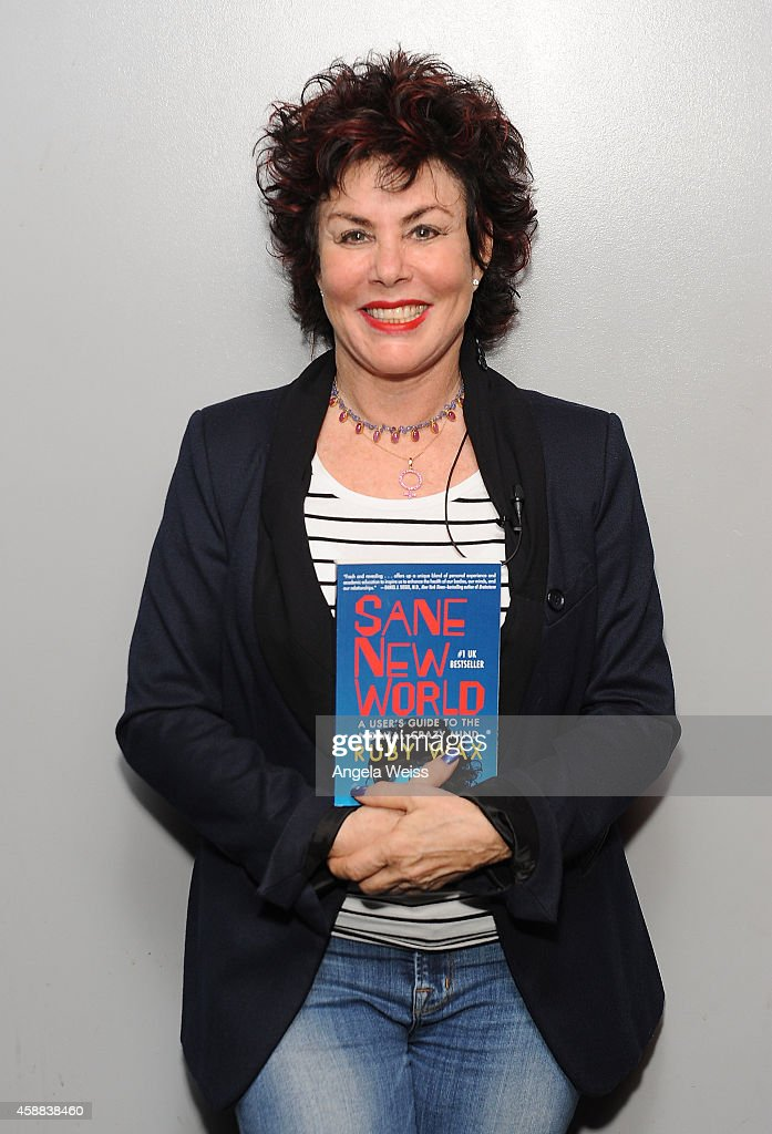 Actress Ruby Wax attends Live Talks Los Angeles presents Ruby Wax in Conversation with Carrie Fisher at Aero Theatre on November 11, 2014 in Santa Monica, California.