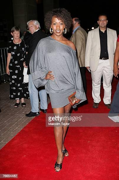 Actress Rukiya Bernard arrives at the midnight madness Stuck north american premiere during the Toronto International Film Festival 2007 held at...