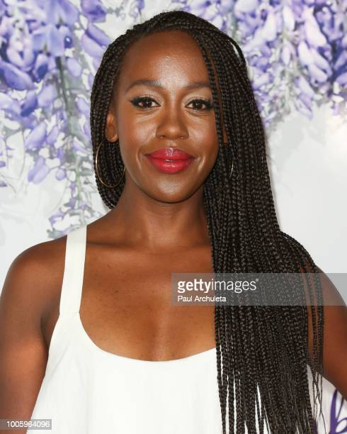 Actress Rukiya Bernard attends the 2018 Hallmark Channel Summer TCA at Private Residence on July 26 2018 in Beverly Hills California