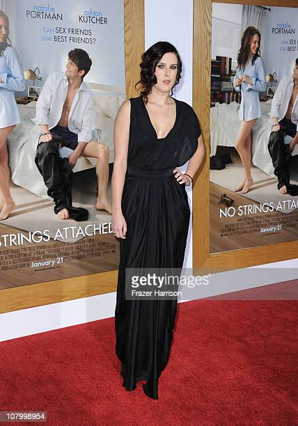 Actress Rumer Willis arrives at Paramount Pictures' 'No Strings Attached' premiere at Regency Village Theater on on January 11 2011 in Westwood...