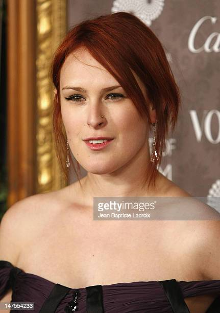 Actress Rumer Willis arrives at the Art of Elysium 2nd Annual Heaven Gala held at Vibiana on January 10, 2009 in Los Angeles, California.