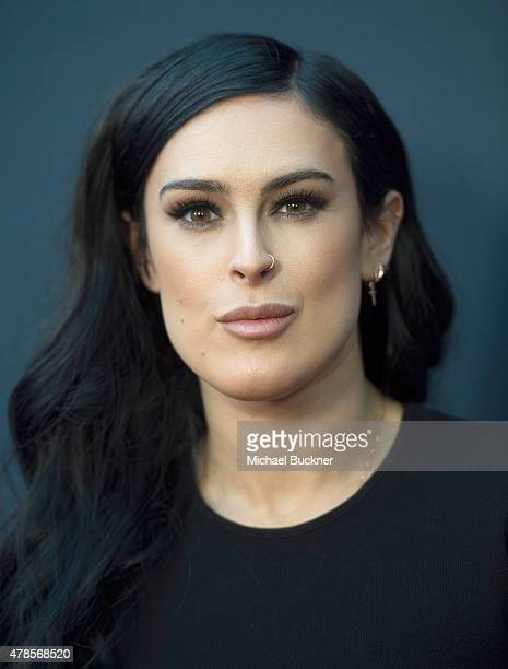 Actress Rumer Willis arrives at the premiere of A24 Films 'Amy' at ArcLight Cinemas on June 25 2015 in Hollywood California