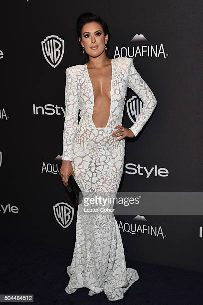 Actress Rumer Willis attends InStyle and Warner Bros 73rd Annual Golden Globe Awards PostParty at The Beverly Hilton Hotel on January 10 2016 in...