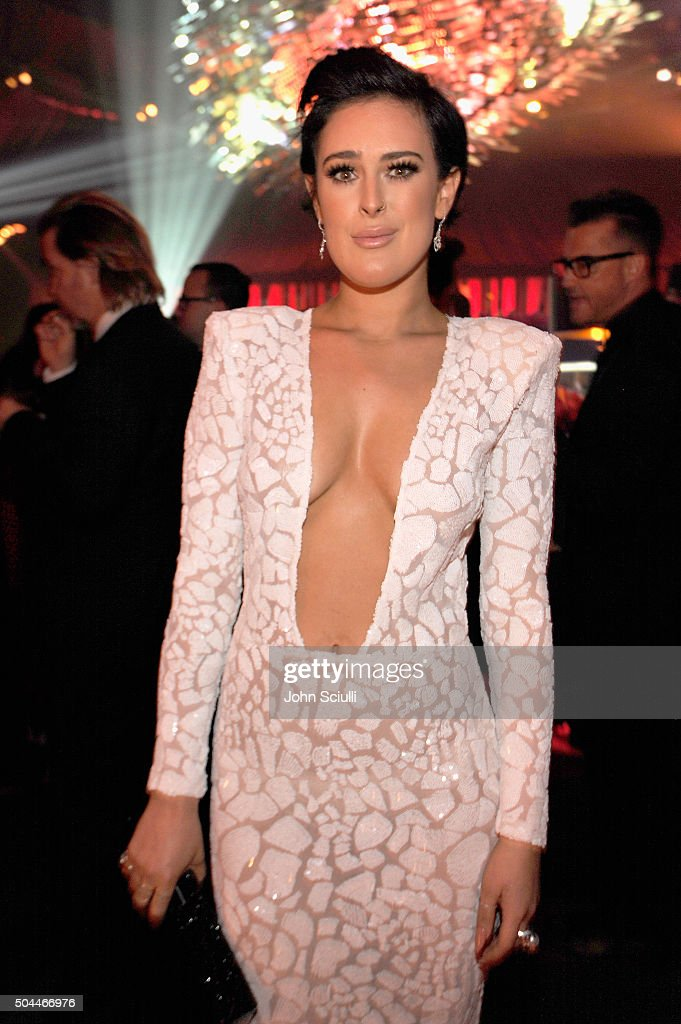 Actress Rumer Willis attends The 2016 InStyle and Warner Bros. 73rd annual Golden Globe Awards Post-Party at The Beverly Hilton Hotel on January 10, 2016 in Beverly Hills, California.